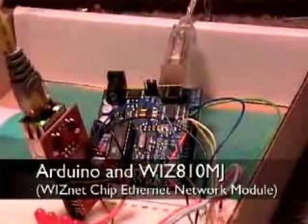 (Video) Arduino y interfaz de red ethernet WIZ810MJ