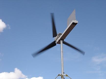 Cómo producir corriente con el viento