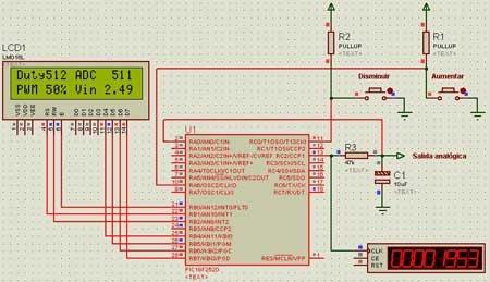 Como hacer una salida anal�gica en un microcontrolador PIC