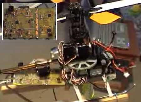 (Video) Piloto automático casero para helicoptero RC