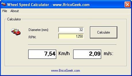 C�mo calcular la velocidad de tu robot