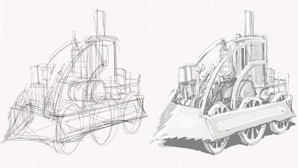 Aprende a dibujar m�quinas