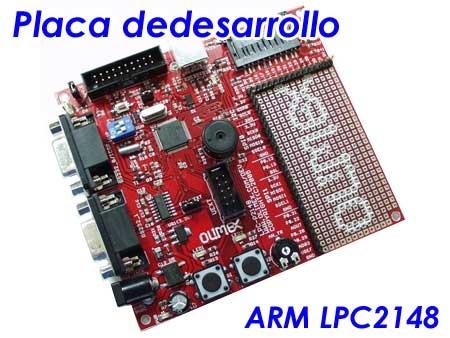 Tienda: Placa de desarrollo ARM LPC2148