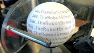 Video impresora para imprimir bolas de ping pong - Bolas de pin pon ...