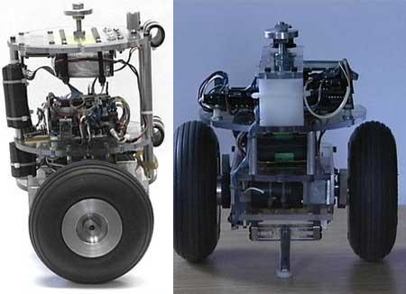 nBot: Robot de auto balanceo del MIT