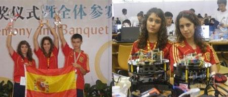 Complubot: Ganadores del campeonato del mundo RoboCup Junior