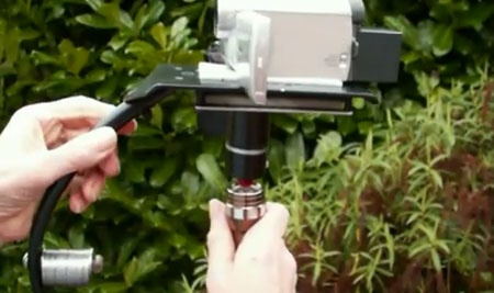 Steadicam: Estabilizador de cámara casero