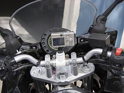 (Video) Soporte casero de cámara de video para moto