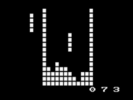 El juego del tetris en 15 lineas de código (Python)
