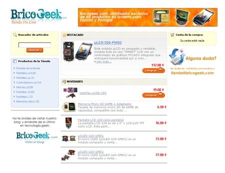 Tienda BricoGeek - Pantallas OLED y LCD ya disponibles!