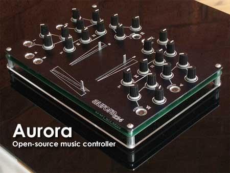 (Video) AURORA Open-Source DJ Music Controller