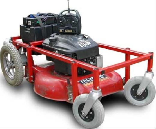 DIY: Cortacesped de radiocontrol (Lawnmower RC)
