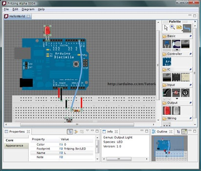Fritzing: Programa Open Source para hacer placas PCB