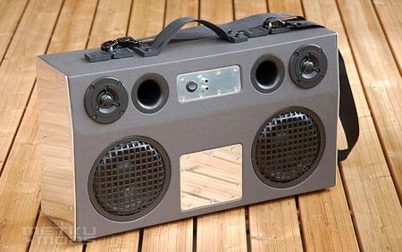 (DIY) Amplificador y altavoces portátiles