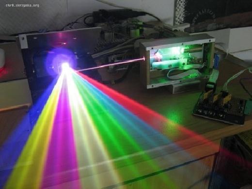 Cómo hacer un Laser RGB casero