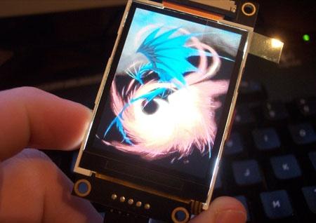 (Video) uLCD-320-PMD2 con Imagenes y Video