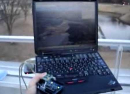 (Video) Google Earth controlado por Arduino   GPS   Compas