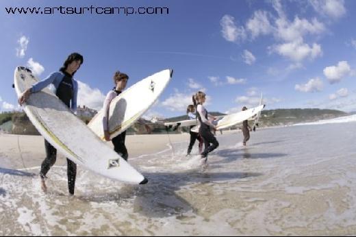 ARTSURFCAMP.COM Aprende a surfear