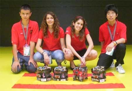 CompluBot en el campeonato del mundo de la RoboCup