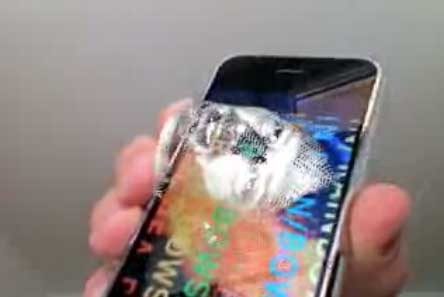 (iPhone) Hologramas de Radiohead con iPhone (Fake!)