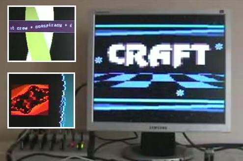 (Video) CRAFT: Una demo en un microcontrolador ATMega88