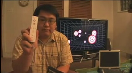 (Video) Johnny Chung Lee Wii Remote Head Tracking
