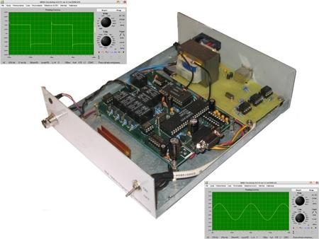 Osciloscopio casero basado en TDA8703