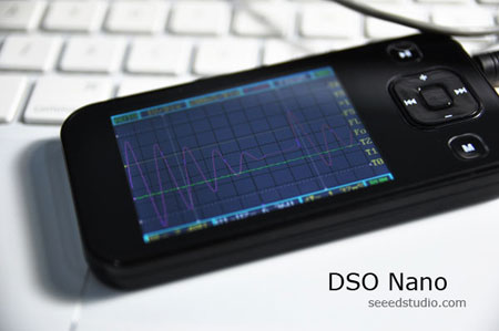 Osciloscopio de bolsillo DSO Nano