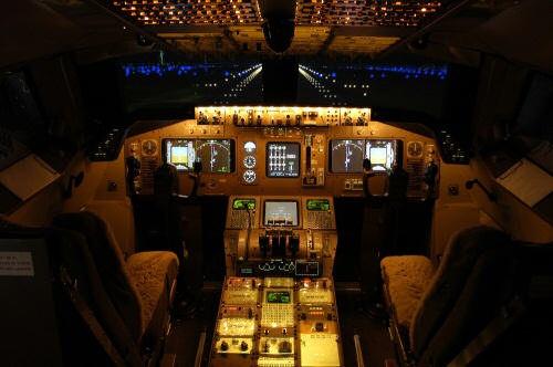 Virtual Flightdeck: El simulador de 747