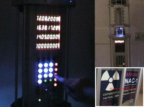 TNAC: Reloj alarma termonuclear casero