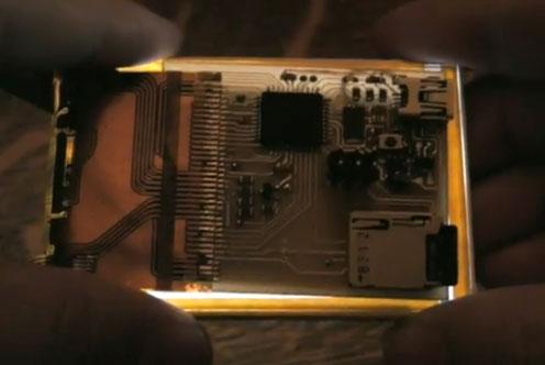 Pantalla LCD táctil con Atmega644 al estilo iPhone