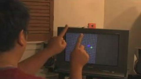 (Video DIY) Finger Tracking con el mando de la Nintendo Wii