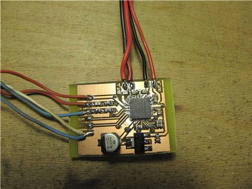 Amplificador estéreo de 20W en 7x7mm.