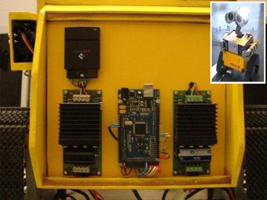 (Video) Robot Wall-E casero basado en Arduino Mega