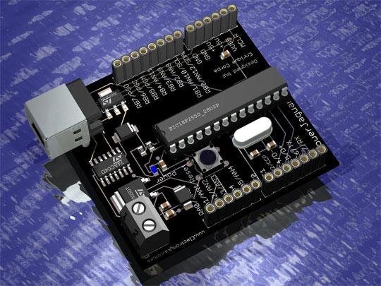 PowerJaguar: El clon de Arduino con PIC18F2550