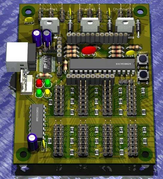 PhantomLED: Controlador de LED y ventiladores para modding con Arduino