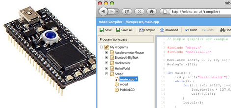 MBED: Desarrollo embedido para ARM con compilador web