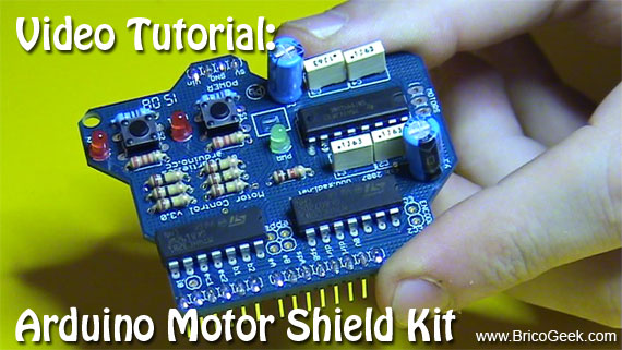 Tutorial: Arduino Motor Shield KIT