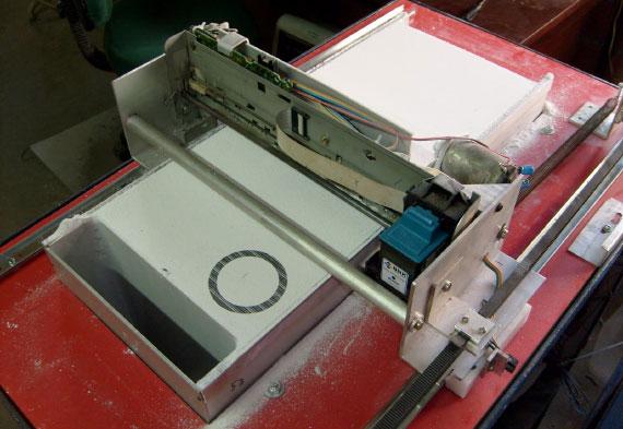 Imprimiendo un motor RC, impresora 3D DIY