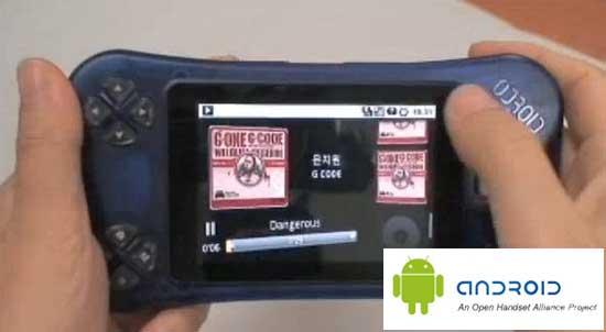 oDroid: La consola portatil para videojuegos con Android