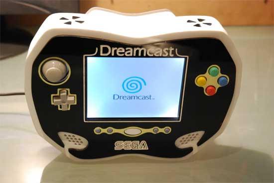 DreamCast portatil casera