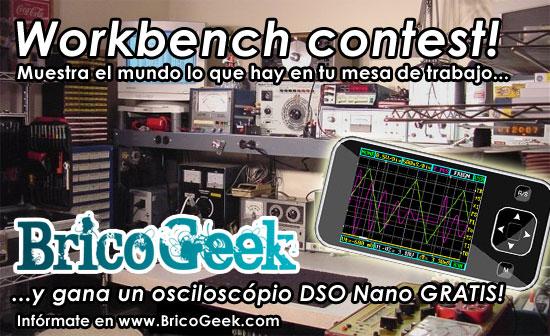 Concurso: Workbench contest - Gana un Osciloscópio DSO Nano
