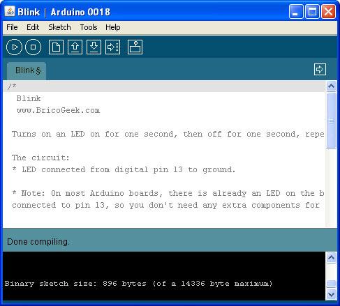 Arduino 0018 ya disponible