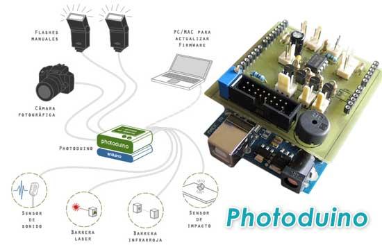 Photoduino: Flash automático para cámaras con Arduino