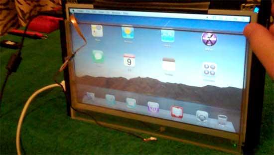 Cómo hacer un Apple iPad casero