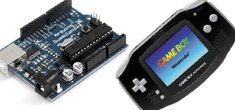 Cable multiboot para Game Boy Advance con Arduino