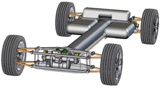 INGOCAR: Coche hibrido hidráulico eficiente