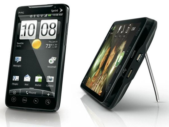 HTC Evo - El primer móvil 4G con Android