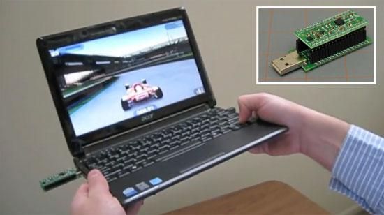 Control de movimiento con PIC18F14K50 USB y acelerómetro