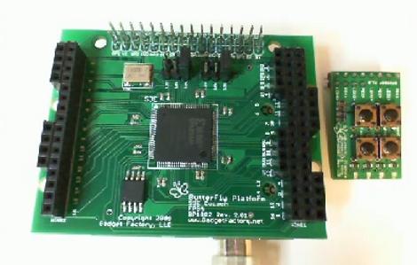 Arduino virtualizado en una placa FPGA